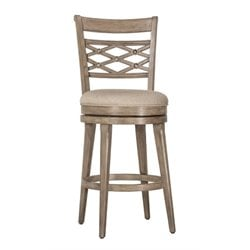 MER-1184 Swivel Bar Stool in Weathered Gray