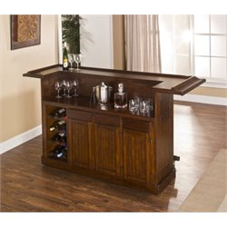 Bowery Hill Home Bar in Brown Cherry
