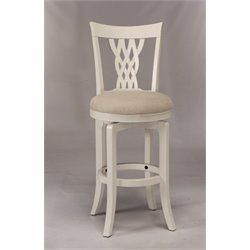MER-1184 Swivel Bar Stool in White 2