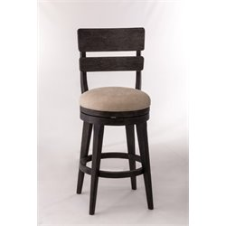 MER-1184 Swivel Bar Stool in Black 3