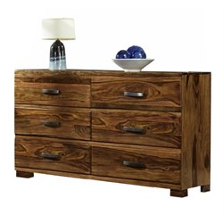 Bowery Hill 6 Drawer Dresser in Natural