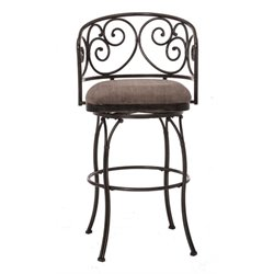 MER-1184 Swivel Bar Stool in Black 2