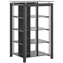 Bowery Hill 3 Shelf Audio Rack