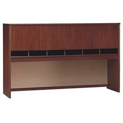 Bowery Hill 4 Door Hutch in Hansen Cherry