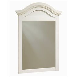 Bowery Hill Mirror in White Wash