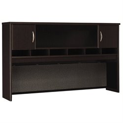 Bowery Hill 2 Door Hutch in Mocha Cherry