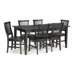 Bowery Hill 7 Piece Dining Set in Ebony