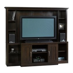 Bowery Hill Entertainment Center in Cinnamon Cherry