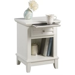 Bowery Hill Nightstand in White