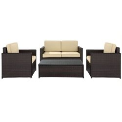 MER-1176 Wicker Outdoor Sofa Set