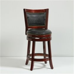 MER-1176 Swivel Bar Stool in Cherry