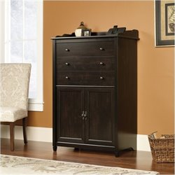 Bowery Hill Secretary Desk in Estate Black