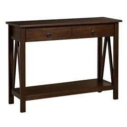 Bowery Hill Console Table in Antique Tobacco