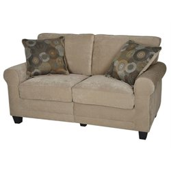 Bowery Hill Loveseat in Marzipan