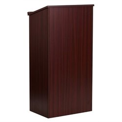 Bowery Hill Stand Up Lectern in Mahogany