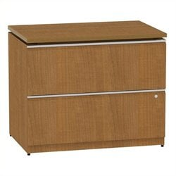 Bowery Hill 2 Drawer Lateral File in Golden Anigre