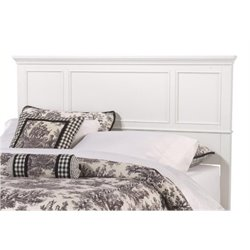 Bowery Hill King Panel Headboard in White