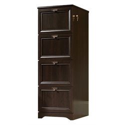 Bowery Hill File Cabinet in Cinnamon Cherry