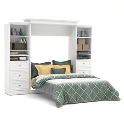 MER-1176 Queen Storage Wall Bed