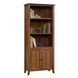 Bowery Hill 3 Shelf Bookcase in Washington Cherry