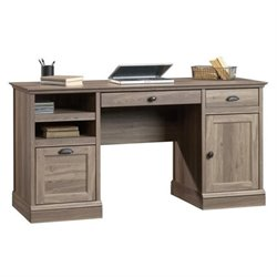 Bowery Hill Executive Desk in Salt Oak