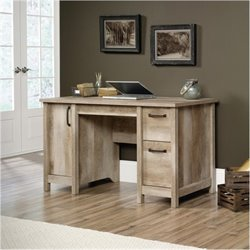 Bowery Hill Computer Desk in Lintel Oak