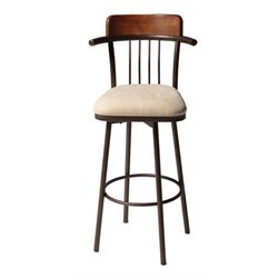 MER-1176 Bar Stool in Chestnut