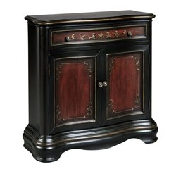 Bowery Hill Accent Chest in Black Cherry