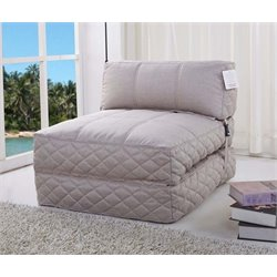 MER-1176 Convertible Bean Bag Chair Bed