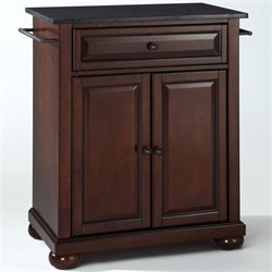 MER-1176 Kitchen Island in Mahogany 3