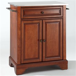 MER-1176 Kitchen Island in Cherry 1