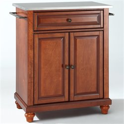 MER-1176 Kitchen Island in Cherry 2