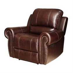 Bowery Hill Leather Recliner