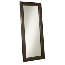 MER-1176 Leather Floor Mirror