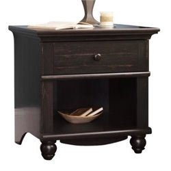 Bowery Hill Nightstand in Antiqued Paint