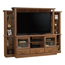 Bowery Hill Entertainment Center in Milled Cherry