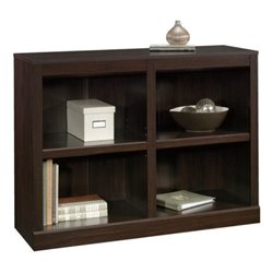 Bowery Hill 2 Shelf Bookcase in Jamocha Wood