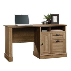 Bowery Hill Computer Desk in Scribed Oak