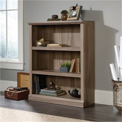 MER-1176 Bookcase in Salt Oak