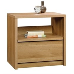 Bowery Hill Nightstand in Pale Oak