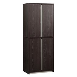 Bowery Hill Storage Cabinet in Carbon Ash