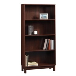 Bowery Hill 4 Shelf Bookcase in Cherry