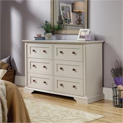 Bowery Hill 6 Drawer Dresser in Cobblestone