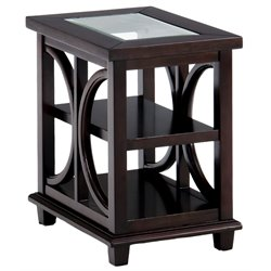 Bowery Hill End Table in Brown