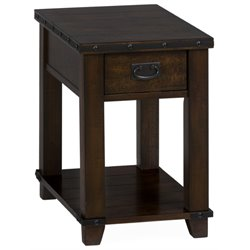 MER-1374 Bowery Hill End Table in Brown B