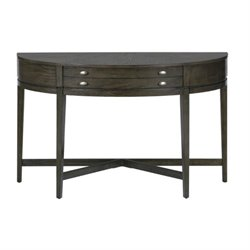 MER-1374 Bowery Hill Console Table in Antique Gray Ash