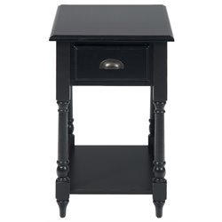 Bowery Hill End Table in Antique Black