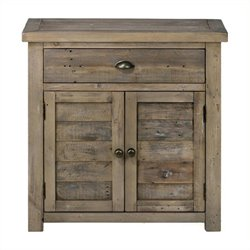 MER-1374 Bowery Hill Accent Chest with French Style Doors