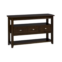 Bowery Hill Console Table in Birch