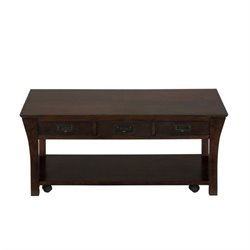 Bowery Hill Coffee Table in Rich Dark Wood
